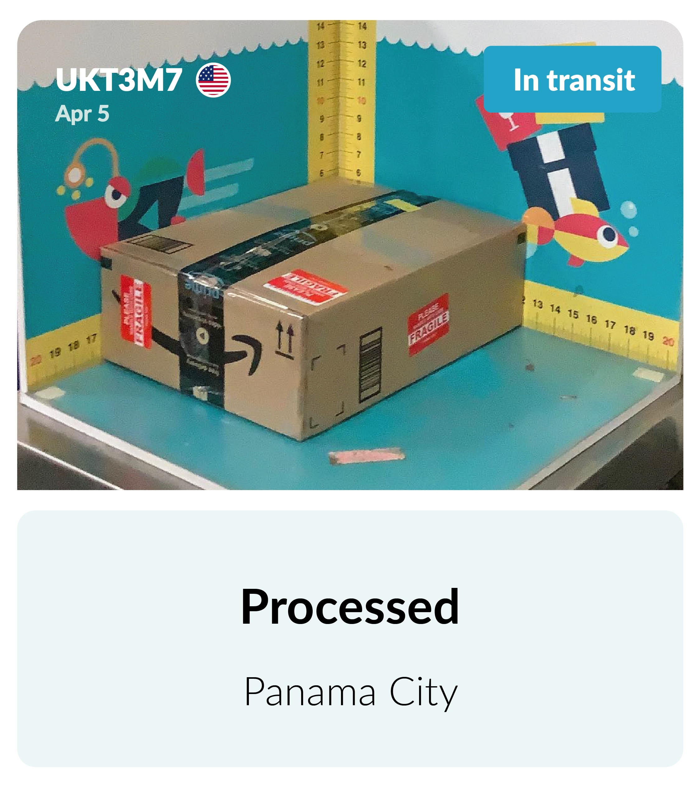 Package on the way