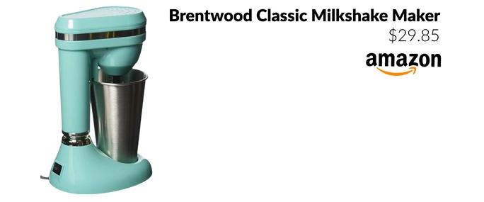Brentwood Classic Milkshake Maker