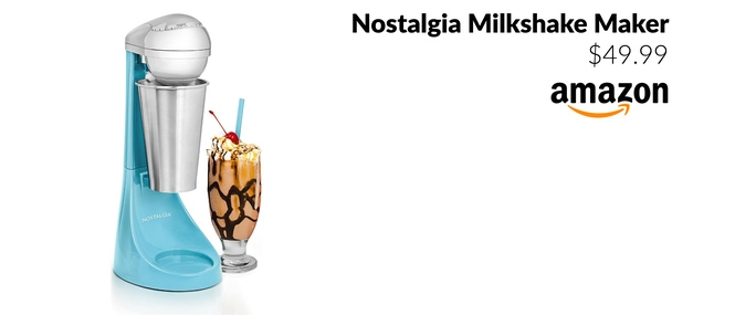 Nostalgia Milkshake Maker
