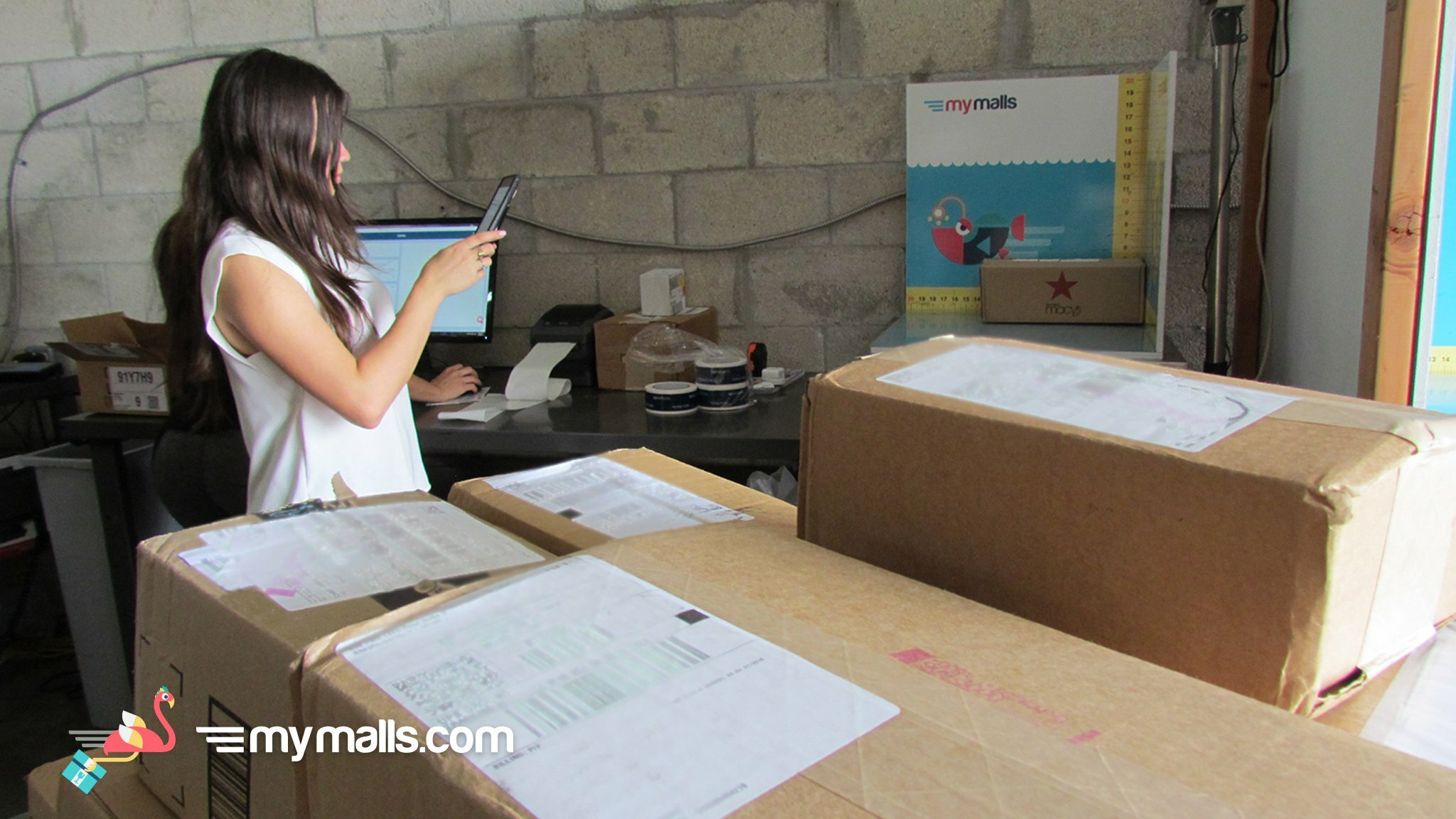 Photo from MyMalls warehouse
